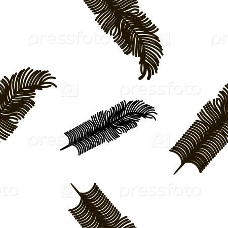 Текстуры с птичьими перьями