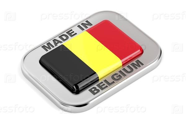 Сделано в Бельгии значок