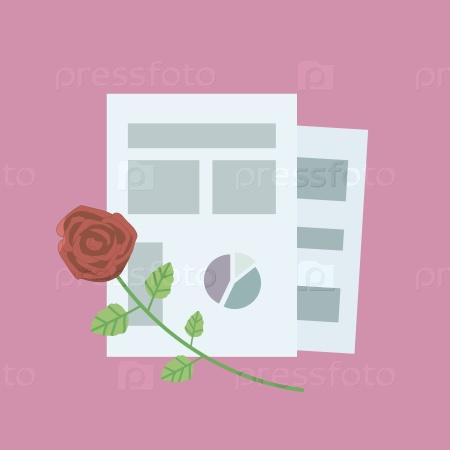 Графики и роза