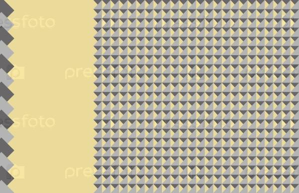 Светло-желтый фон с геометрическими фигурами