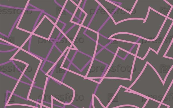 Розовые и сиреневые линии фон