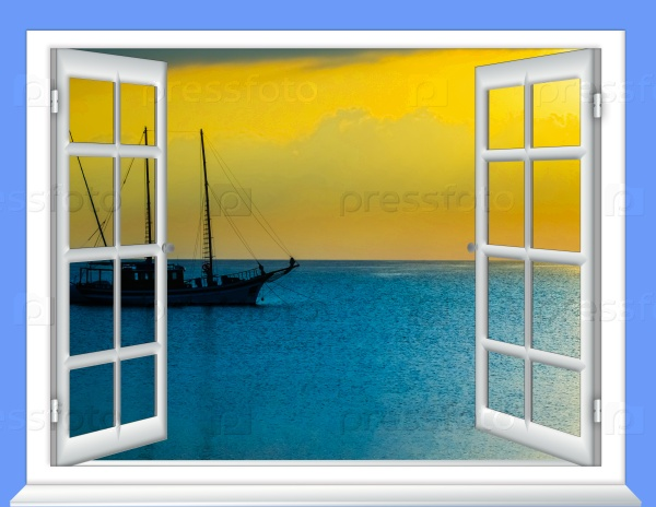 Море в окне