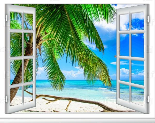 Вид на Карибское море