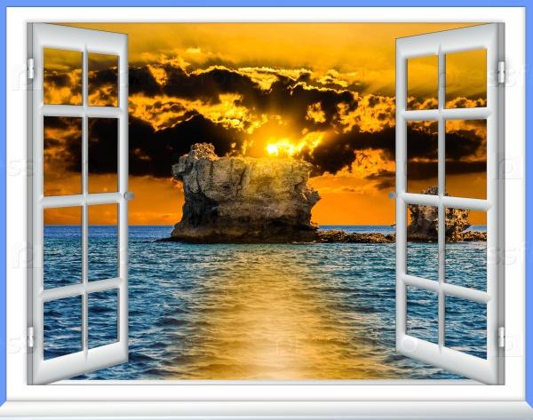 Море из окна