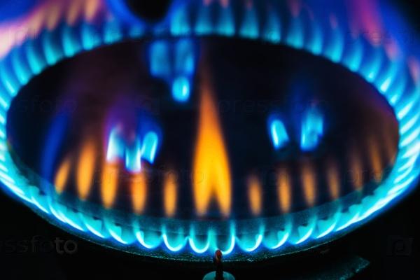 Пламя газовой горелки