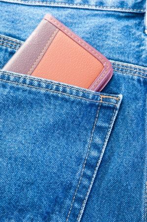Блокнот в джинсах