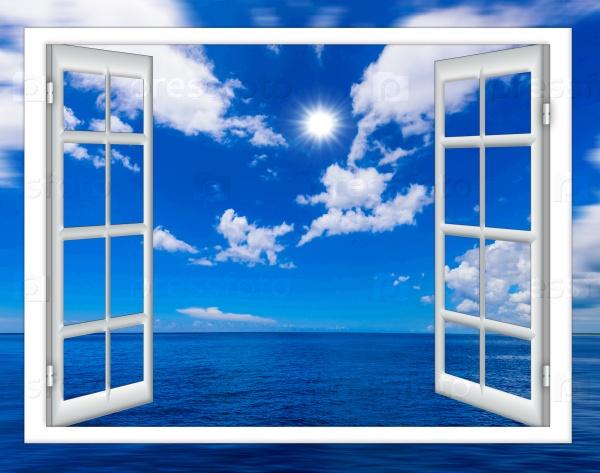 Окно и океан