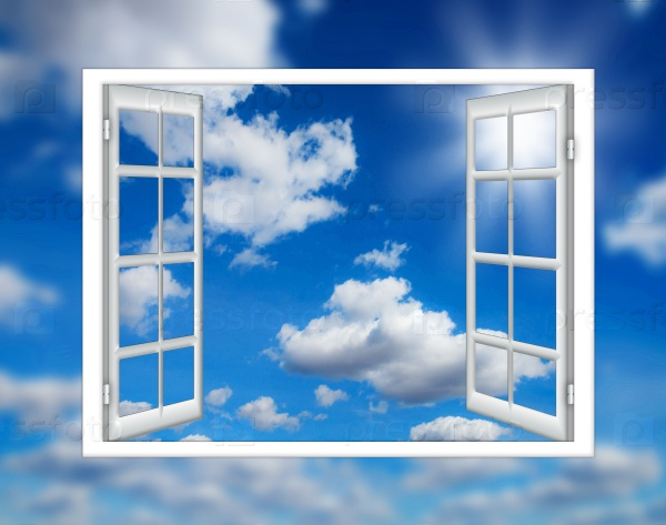 Открытое окно на облака