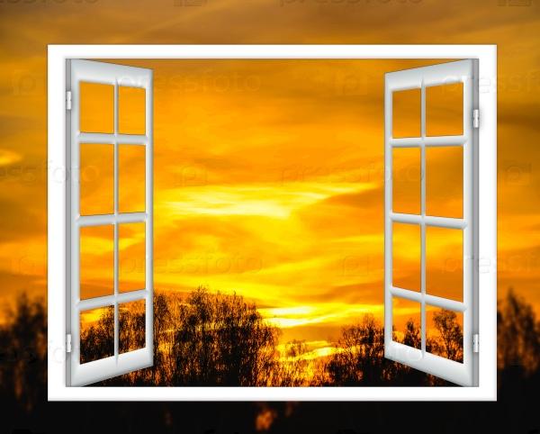 Небо в окне