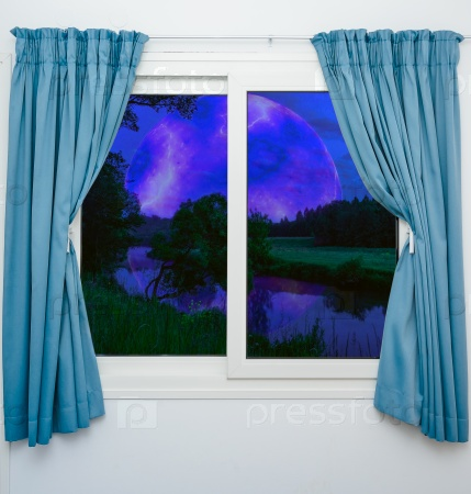 Ночь за окном