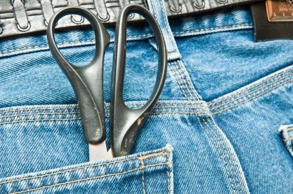 Ножницы в кармане