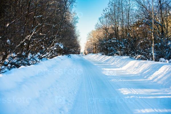 Зимние сельские дороги