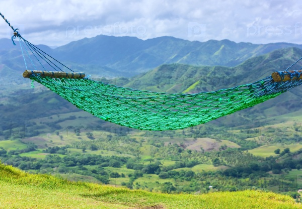 Зеленый гамак