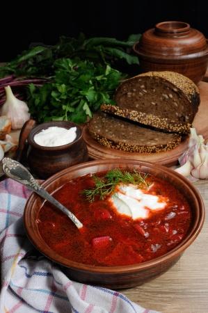 Борщ - суп со свеклой