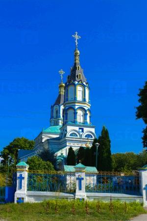 Храм Святой Ильинский в зоне Чернобыльской АЭС