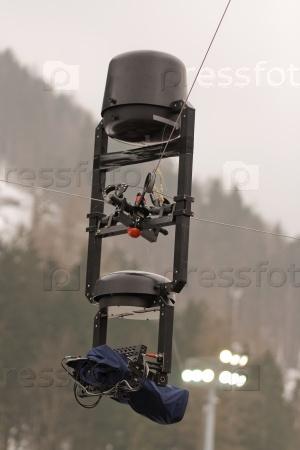 Mobile television camera