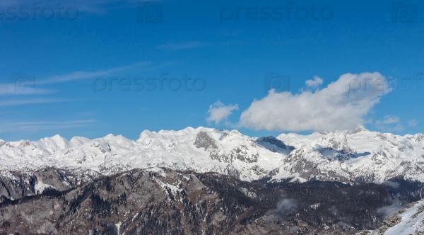 Зимние горы Словения