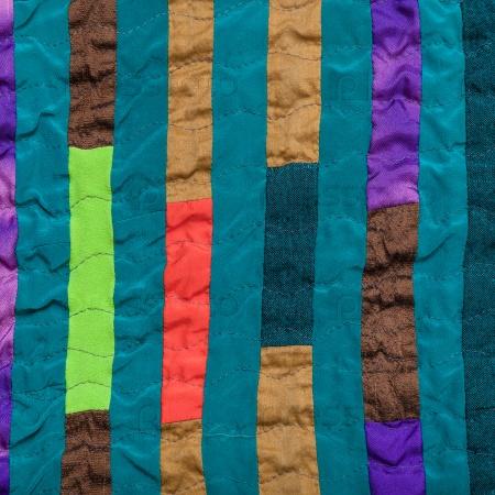 Лоскутный шарф
