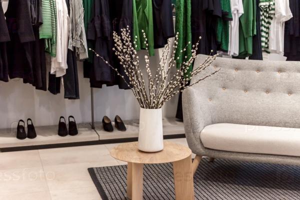 Интерьер магазина с цветами