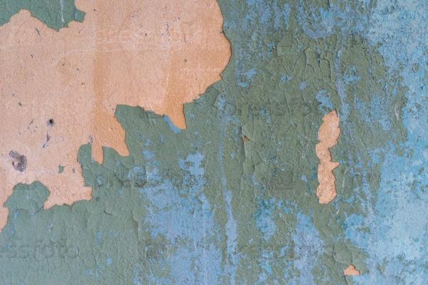 Фон стены со старой краской