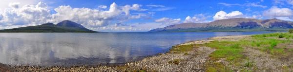 Горне озеро на плато Путорана