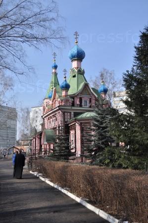 Церковь Троицы Живоначальной в Наташине в Люберцах