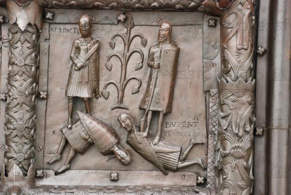 Сигтуна, Магдебургские врата, Софийский собор