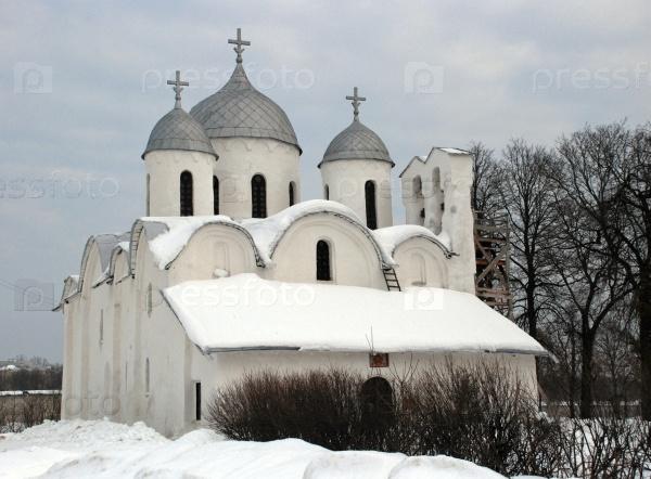 Псков. Собор Рождества Иоанна Крестителя