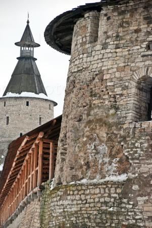 Псков. Высокая башня Кутекрома