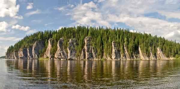 Объект объекта всемирного наследия ЮНЕСКО Девственные леса Коми