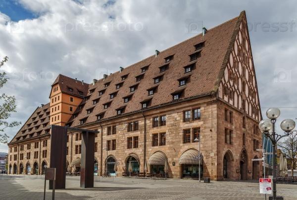 Маутхалле в Нюрнберге, Германия