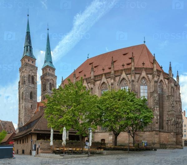 Церковь Св. Себальдуса, Нюрнберг, Германия