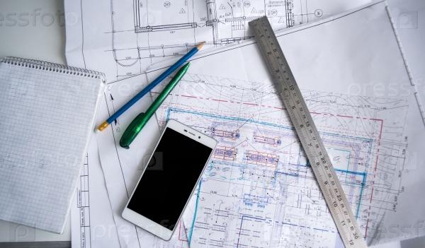 План архитектуры дома