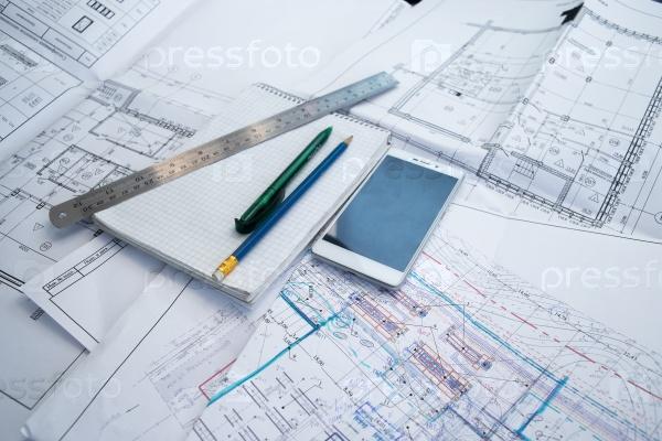 Строительный чертеж
