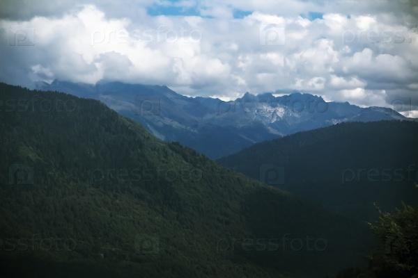 Горы Кавказа в России