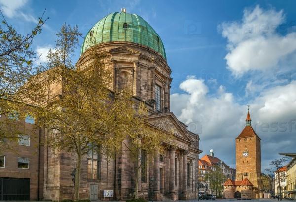 Святая Элизабет, Нюрнберг, Германия
