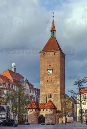 Белая башня, Нюрнберг, Германия