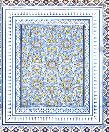 Роспись Кок Гумбаз, Узбекистан