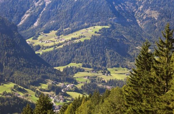 Валь Гардена и Ортизеи, доломитовые Альпы