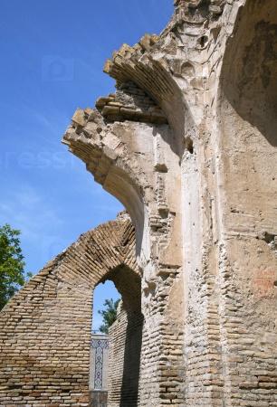 Разрушенные стены Гур-э-Эмир, Самарканд