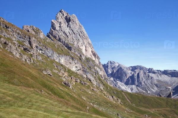 Сецеда гора в Доломитах