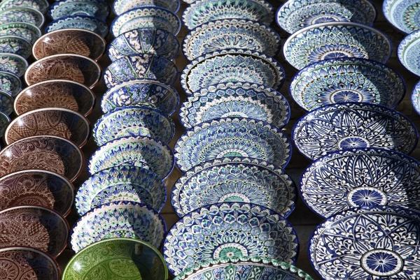 Керамическая посуда, Узбекистан