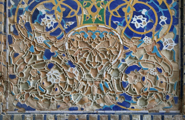 Старая мозаика