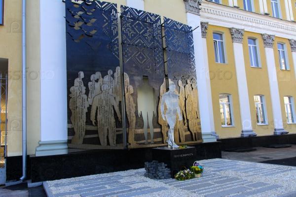 Памятник погибшим воинам АТП, Житомир, Украина