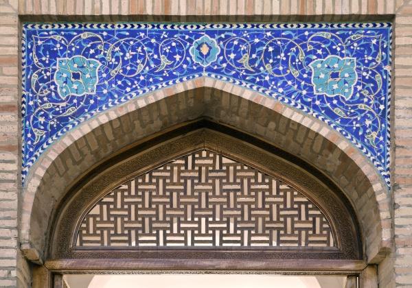 Ворота мечети в Ташкенте