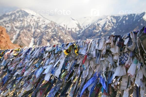 Буддийские молитвенные ленты