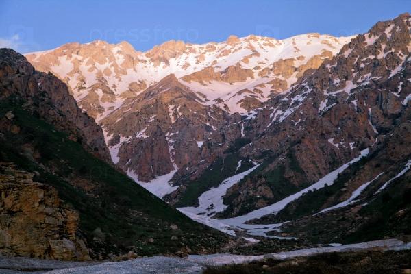 Чимган горы, Узбекистан