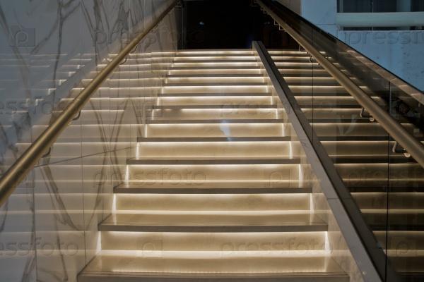 Лестницы в отеле