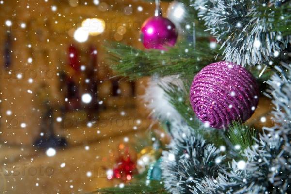 Красивый фон Рождество