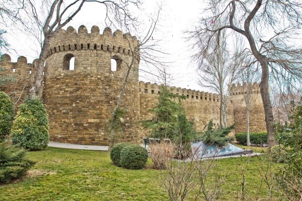 Ичери Шехер в Баку. Азербайджан